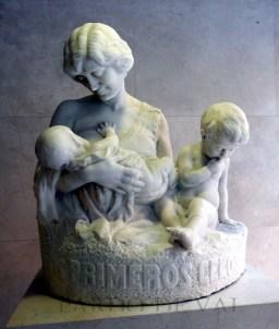 estatua lactancia hospital gregorio marañon maternidad o'donell