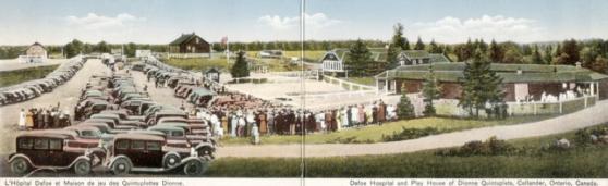 visitantes quintillizas dionne quintland
