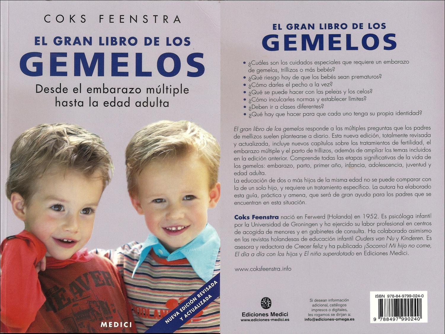 el gran libro de los gemelos feenstra cooks portada y contraportada