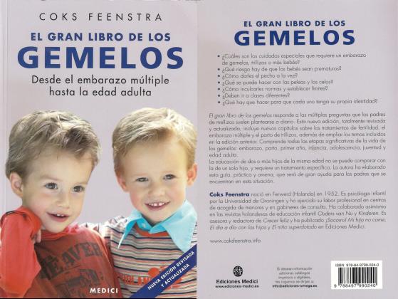 el gran libro de los gemelos portada y contraportada