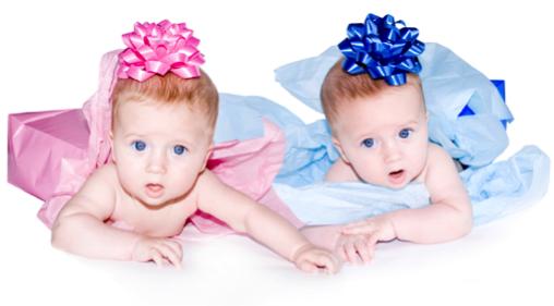 gemelos mellizos regalo